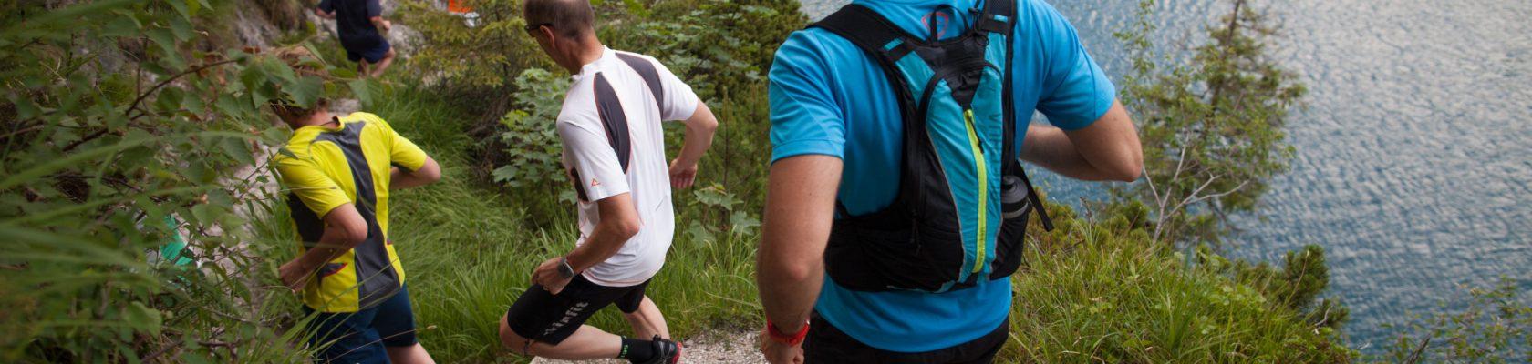 Streckenbesichtung (Bildnachweis: sportalpen.com)