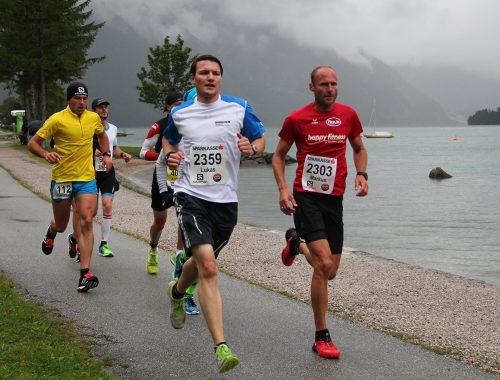 Beim Achenseelauf geht´s 23,2 Kilometer rund um den Achensee