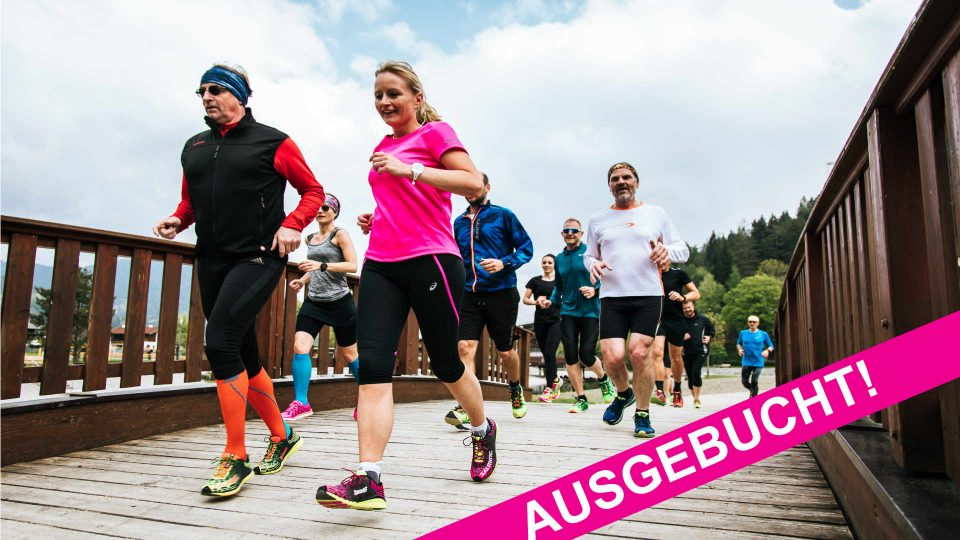 AUSGEBUCHT – Achensee Laufcamp